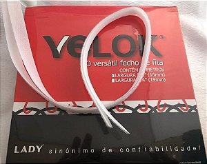 Fecho de Fita (Velcro) Cores Preto ou Branco *largura: 16mm* -Venda por metro-