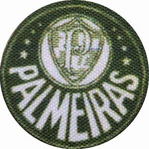 Emblema Termocolante Palmeiras - Tamanho 23 mm - (Venda por par)