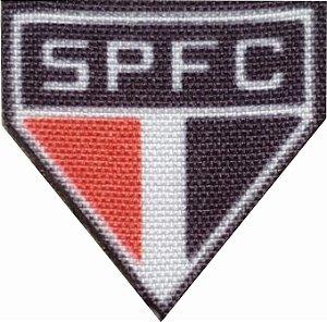 Emblema Termocolante São Paulo - Tamanho 23 mm - (Venda por par)