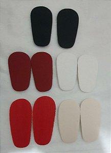 Palmilha de EVA, básica - Cores: Branca, Preta, Vermelho, Vinho e Bege - Tamanhos: 8cm, 9cm, 10cm, 11cm e 12cm
