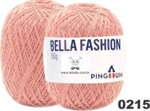 Bella Fashion , 150g, 0215 - Salmão- TEX 295