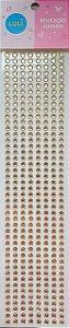 Sticker's - Autocolantes - Strass Acrílico - Mod. A5 - Tam: 5mm *cartela com 360 unidades