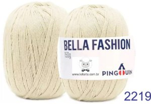 Bella Fashion , 150g, 2219 - Massa Pérola - TEX 295
