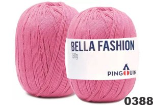 Bella Fashion , 150g, 0388 - Rosalia Rosa Médio  - TEX 295