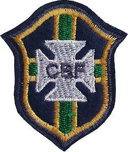 Brasão da C.B.F (CBF) - Patch - Medida: 5,0 cm de largura x 5,8 de altura - *Venda por unidade*