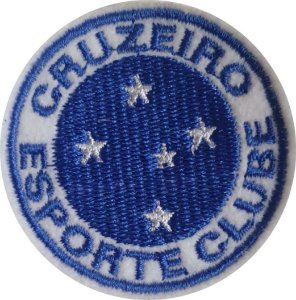 Brasão do Cruzeiro- Patch - Medida: 5,8 cm de diâmetro - *Venda por unidade*