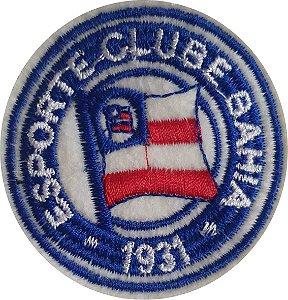 Brasão do Esporte Clube Bahia - Patch - Medida: 6,3 cm de diâmetro - *Venda por unidade*
