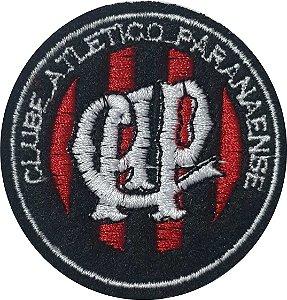 Brasão do Clube Atlético Paranaense - Patch - Medida: 6,0 cm de diâmetro - *Venda por unidade*