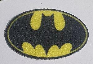 Emblema Termocolante - Brasão Batman  - 25 x 15 mm - *****Venda por par*****