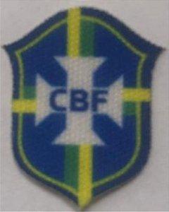 Emblema Termocolante CBF - Tamanho 22 x 19 mm - (Venda por par)