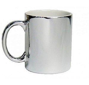 Caneca de Ceramica 325 ml Metalizada