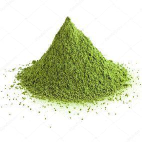Chá Verde com Abacaxi e Hortelã em Pó