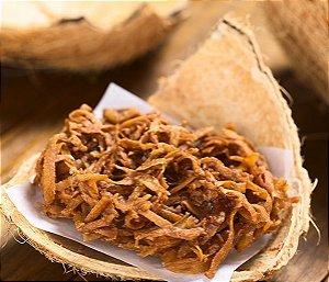 Coco Chips Queimado Caramelizado com Açúcar de Coco