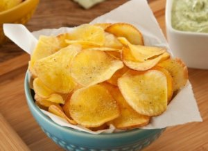 Chips de Mandioca com Lemon pepper