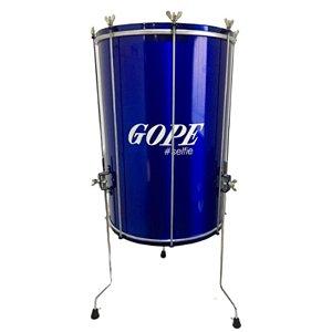 Surdo Gope 16'' x 60cm Alumínio Selfie Azul Bal6016PESA