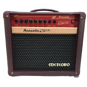 Cubo Meteoro Acoustic V40 Para Violão 40 Watts