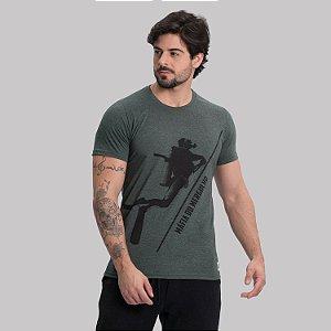 Camiseta Mergulhador Corda