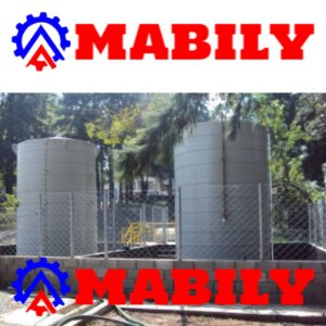 Tanque de polipropileno para armazenamento vertical