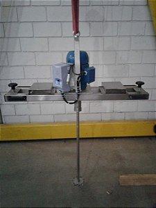 Misturador agitador para tanque IBC motor  direto elétrico