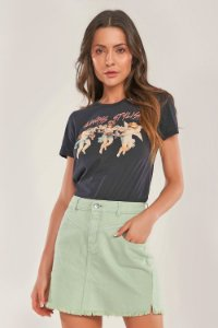 SAIA JEANS COLOR MINT
