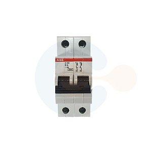Mini Disjuntor 2P S202 Curva D 6A 6kA