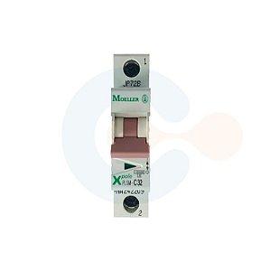 Mini Disjuntor 1P PLSM Curva C 32A 10kA