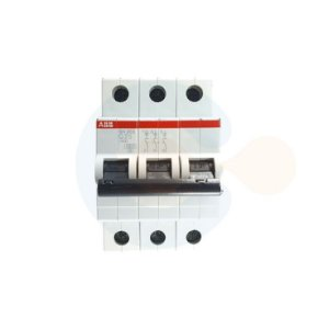 Mini Disjuntor 3P SH203 Curva C 25A 6 kA