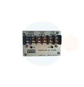 Transdutor de Tensão CC 0 a 300 Vcc/ 4 a 20 mAcc/ ALIM 125Vcc