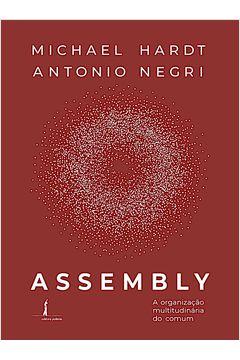 Assembly: a Organização Multitudinária do Comum - por Michael Hardt e Antonio Negri