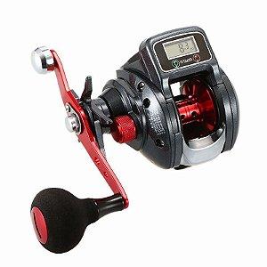 Molinete de Pesca Line Counter 6.3 Digital Roda Arremesso