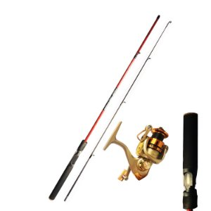 Kit Pesca UltraLight Vara 1,80 Carbono Molinete MR