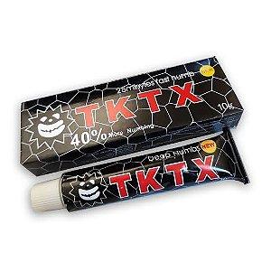 Pomada Anestésica TKTX Preta Micropigmentação Tatuagem 40%