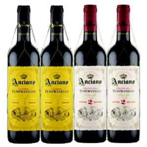 KIT 2 ANCIANO WINES TEMPRANILLO