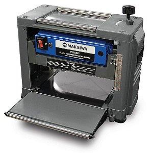 PLAINA DESENGROSSADEIRA 310MM 110v MONOFÁSICO MAKSIWA PDJ310