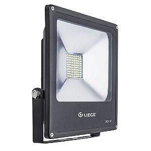 REFLETOR DE LED 30 W. BIVOLT PRETO LIEGE - 497932