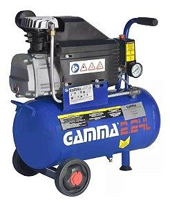 Compressor De Ar 24 Litros 2hp 220v G2801br2 - Gamma