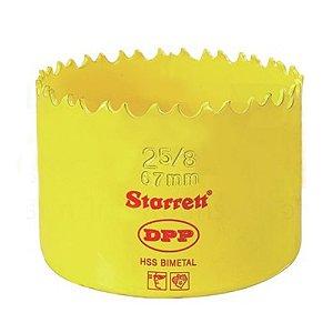 """SERRA COPO BIMETAL 67MM 2.5/8"""" STARRETT DH0258"""