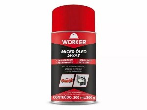 DESENGRIPANTE MICRO OLEO SPRAY 300ML/200G WORKER 900630