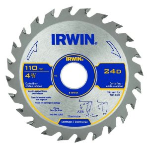 "SERRA WIDEA 4.3/8""x24 DENTES 20MM IRWIN - IW14104"