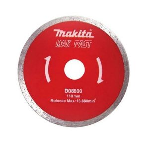 DISCO DIAMANTADO MAKFAST LISO 110MM MAKITA D08800
