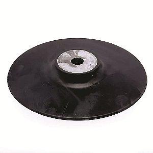 DISCO DE BORRACHA FLEXIVEL 180MM ROSCA M14 J309 BLACK JACK
