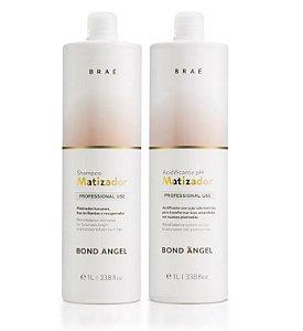 Braé Bond Angel - Kit Shampoo e Acidificante pH 1L