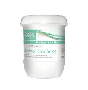Dágua Natural Creme de Massagem Ácido Hialurônico 650g