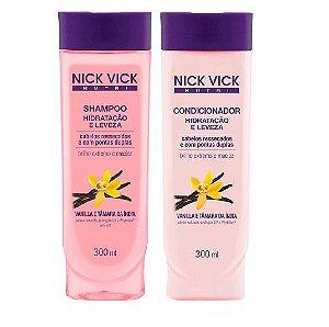 Nick Vick Kit Hidratação e Leveza Shampoo e Condicionador