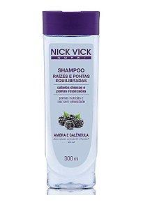 Nick Vick Shampoo Raízes e Pontas Equilibradas 300ml