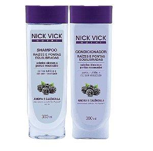 Nick Vick Kit Raízes e Pontas Equilibradas Shampoo e Cond