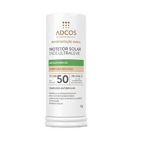 Adcos Protetor Solar Stick Ultra Leve FPS50 Cor Nude