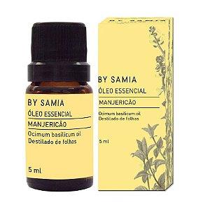 Óleo Essencial Manjericão by Samia 5ml