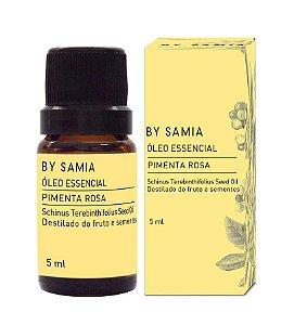 Óleo Essencial Pimenta Rosa by Samia 5ml