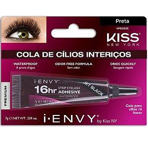 Kiss Cola Para Cílios 16hs Preta